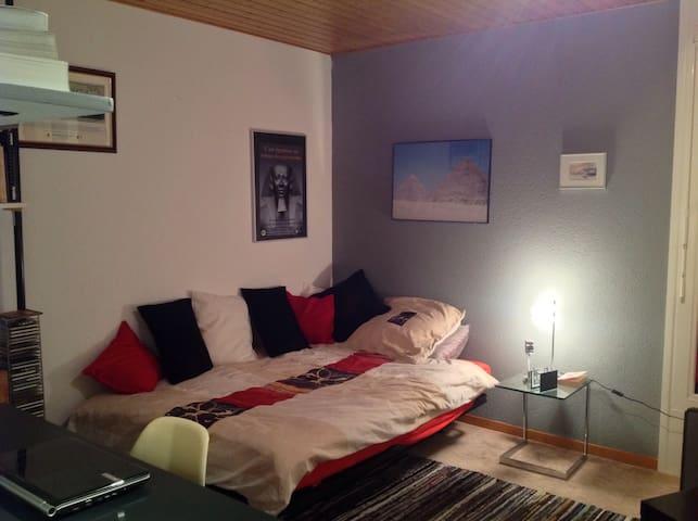 Belle chambre à Bulle - Bulle - House