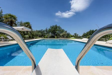 Tuscan dream villa with pool - Città Metropolitana di Firenze