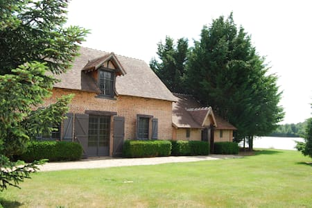10 pers house with ponds to fish - Chaumont-sur-Tharonne - Casa