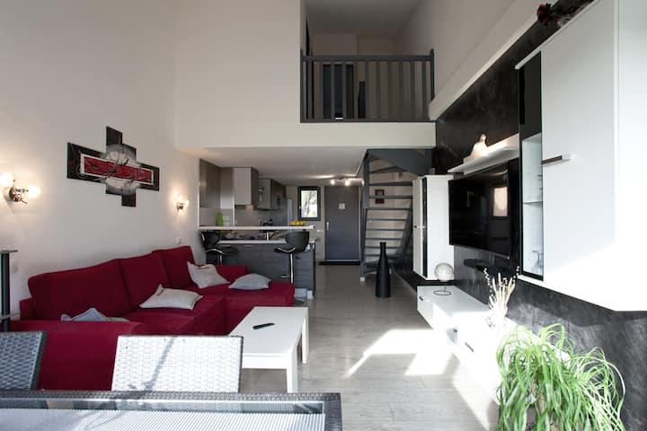 Appartement duplex en camargue