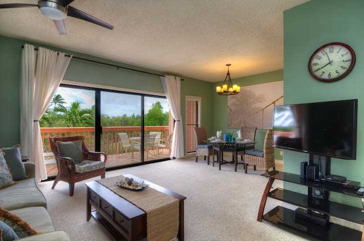 Poipu, Spacious Makanui Condo close to beaches