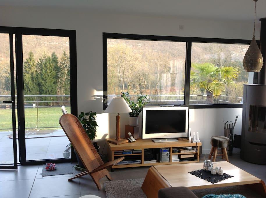 Le Séjour, 45 m²