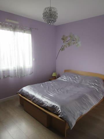 Belle chambre dans maison neuve - La Chapelle-aux-Filtzméens - Talo