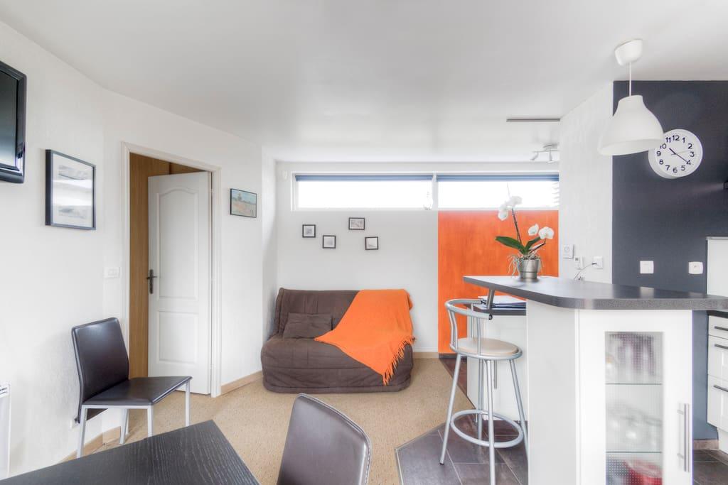 Pièce à vivre - appartement du 1er étage
