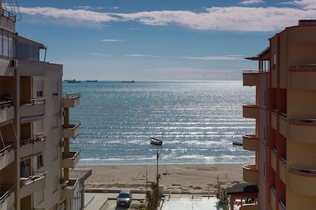 Our apartment of 1 living room + 1 bedroom has all the home amenities. It's located on the promenade, 40m from the beach and only 2 km from Durres city center.