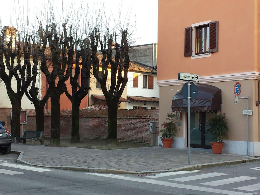 public spaces near