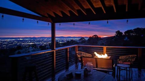 Scenic Getaway -  Rustic Cabin - Mountain Ridge