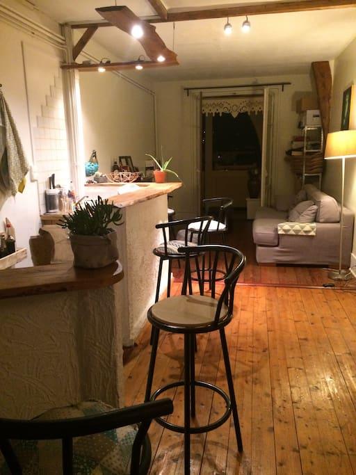 appartement traversant plein de charme flats for rent in aix les bains auvergne rh ne alpes. Black Bedroom Furniture Sets. Home Design Ideas