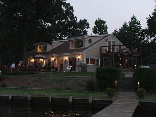 Gorgeous Waterfront perfect for a family vacation! - Glen Burnie - Maison