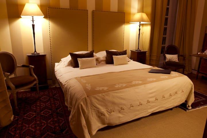 Chambre luxe Château privé - Loire