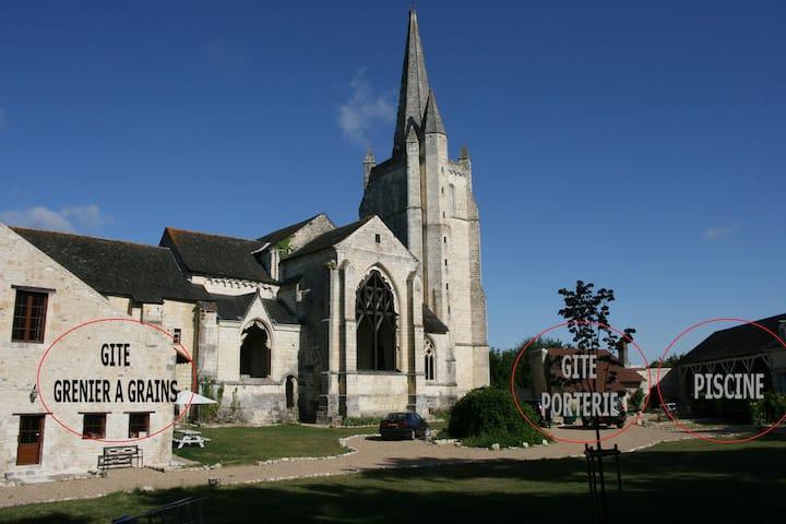 Grenier à grains 4**** Abbaye de Bois-Aubry