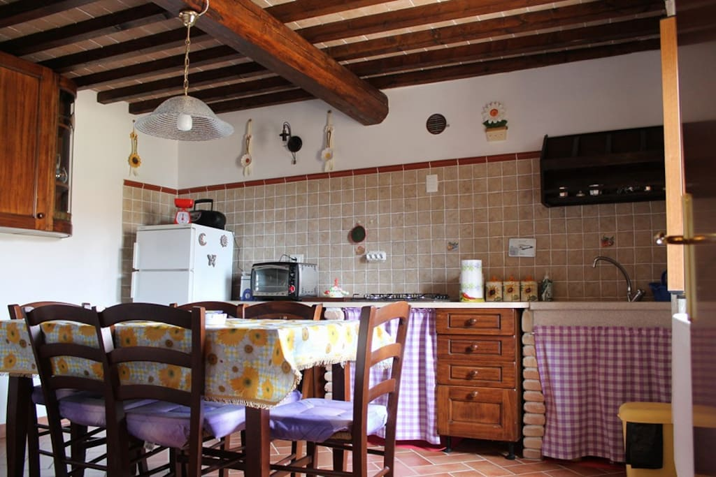 Casa ilary houses for rent in monteverdi marittimo for Piani di casa di log in stile ranch