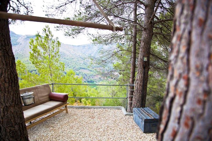 Relax in Eco Paradise - EL REFUGIO - Callosa d'en Sarrià