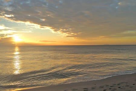 Beautiful Beach Steps Away