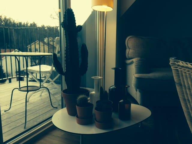 Modern penthouse - Saltsjöbaden - Leilighet