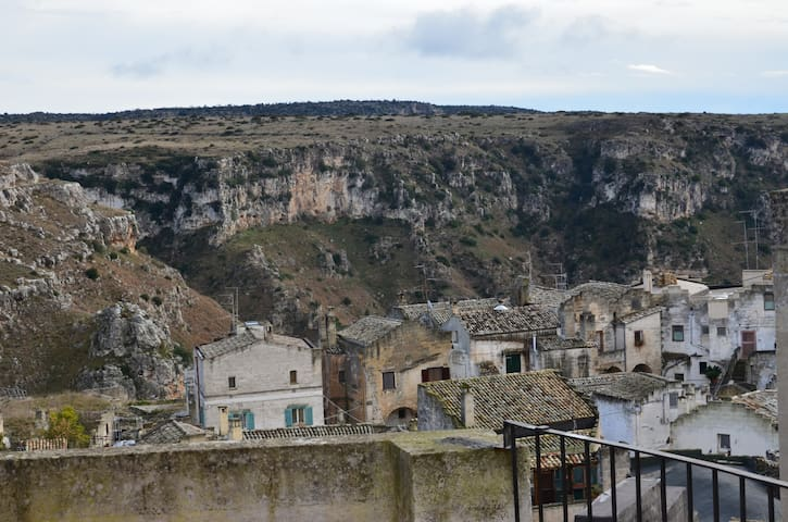 panorama dal terrazzo