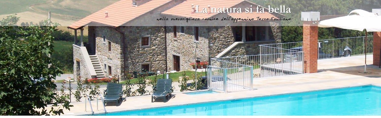 Appartamento Bilocale con piscina - Firenzuola - Daire