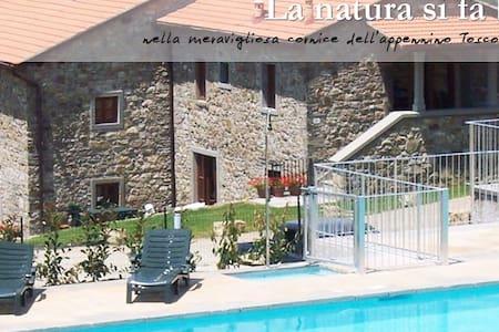 Appartamento Bilocale con piscina - Firenzuola