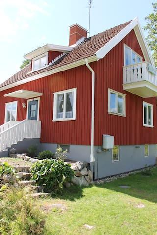 Stemningsfuldt feriehus i Småland - Virserum - Rumah