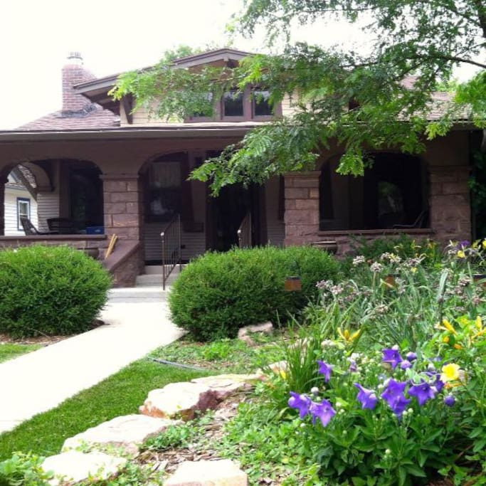Landscaping Rock Yankton Sd : Jasper stone b garden level private bath bed breakfasts for rent in sioux falls south