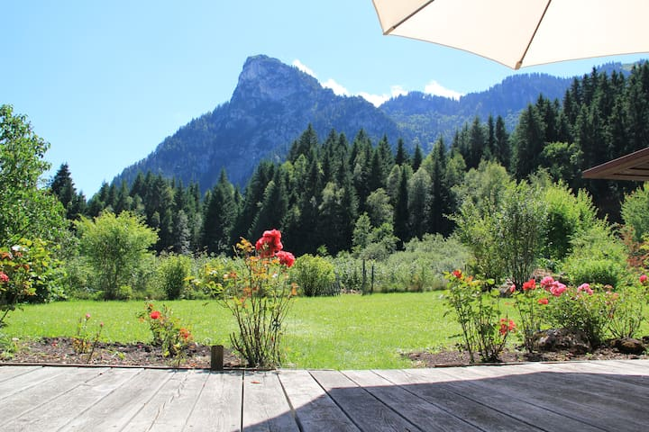 Great Apartment | Garden | Ski area - Oberammergau - Apartmen