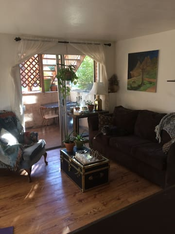Full Private Apartment, 10 min walk to light rail - Denver - Apartamento