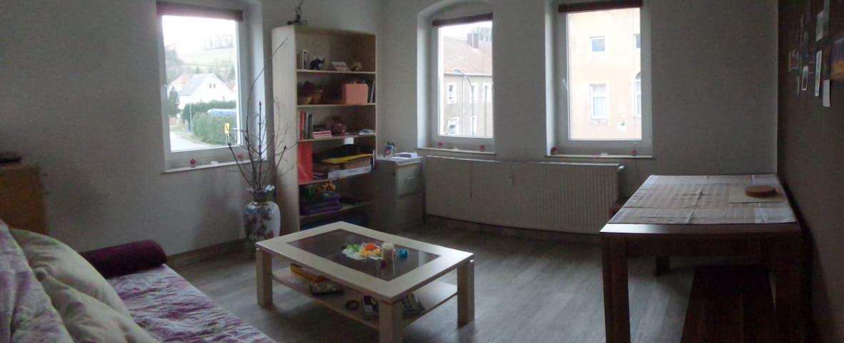 Geräumige Wohnung in ruhig Lungkwitz - Kreischa - Apartamento