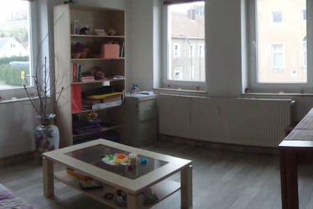 Geräumige Wohnung in ruhig Lungkwitz - Kreischa - Huoneisto