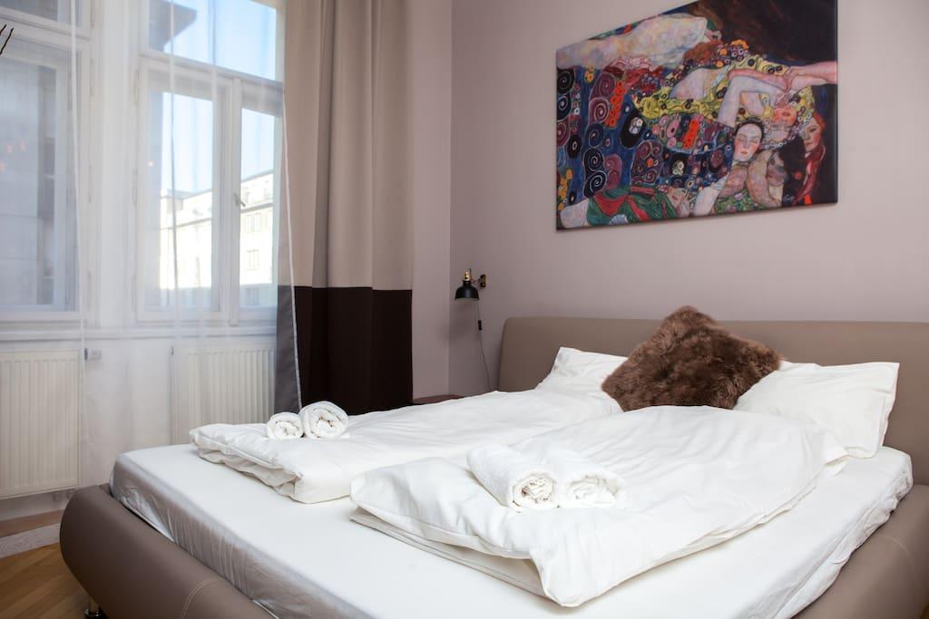 Безупречно чистое постельное белье