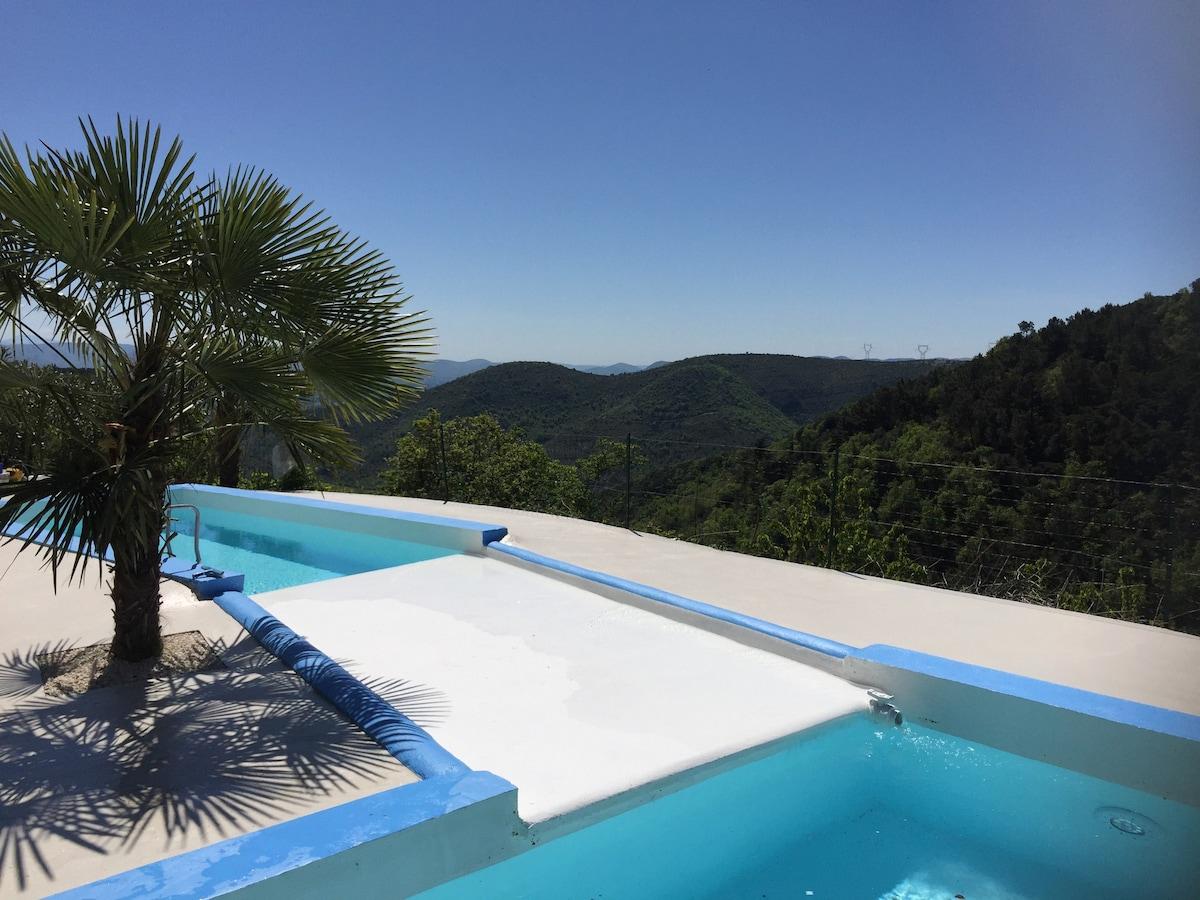 Beautiful Mas Du0027Alice En Ardèche,très Calme Et Proche Ville   Holiday Homes For Rent  In Rompon, Auvergne Rhône Alpes, France