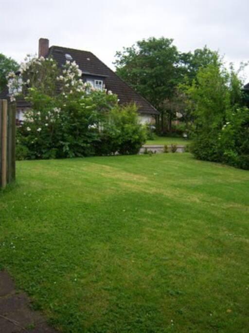 Der Garten ihrer Wohnung