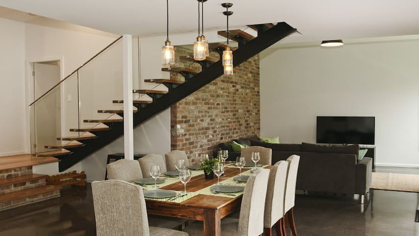 Farrant House - modern and contemporary