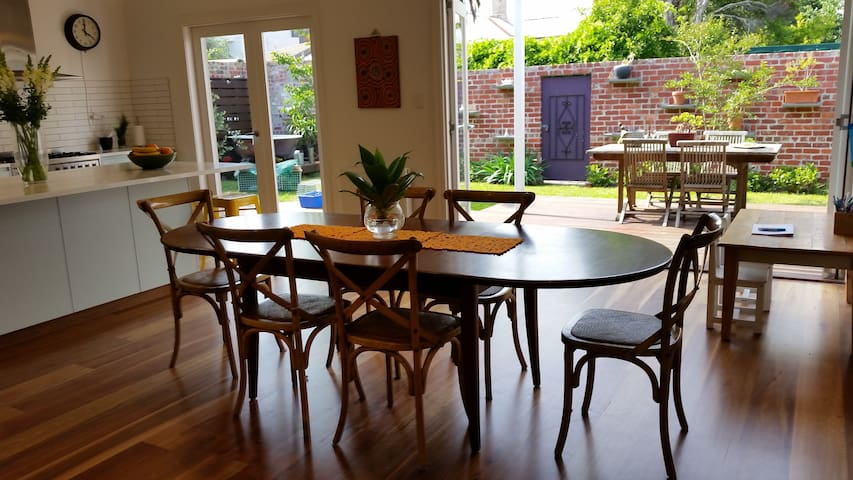 Huge sunny home in East St Kilda - Balaclava - Haus