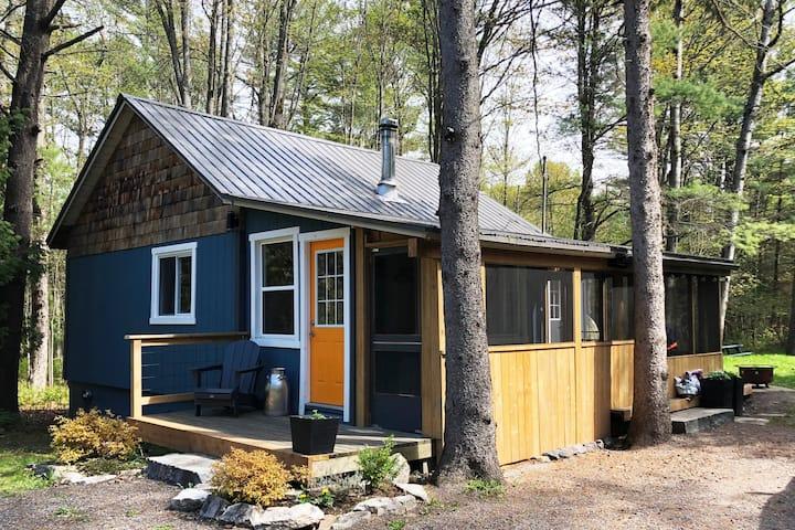 Muskoka Cabin & Cedar Sauna - only 1:30 from TO!