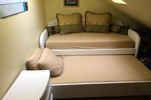 Bedroom #4 with trundle bed