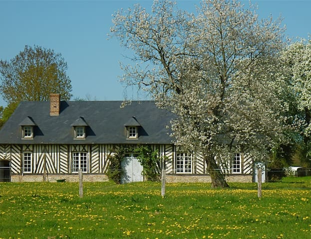 Charming large timber house - Lieurey - Huis