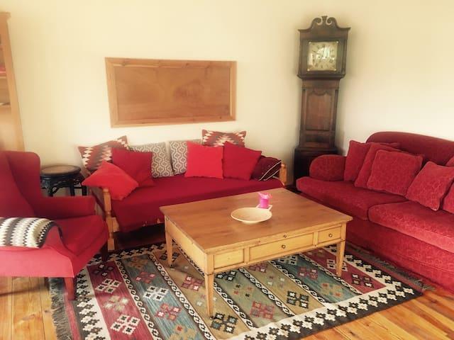 Vrijstaand appartement met terras