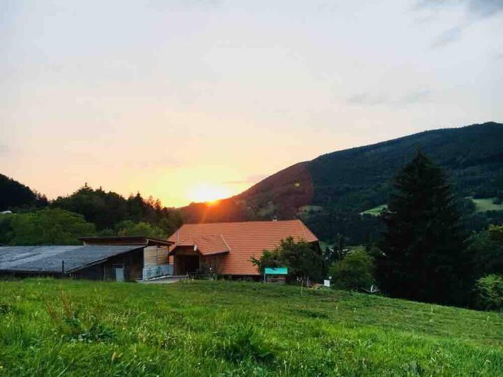 Bauernhof in Jura Highlands