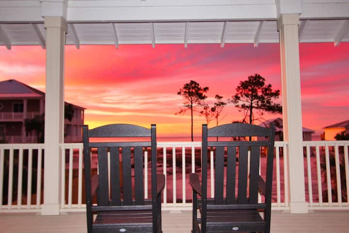 Private Pool Gulf Front View Pet Friendly Sleeps 8