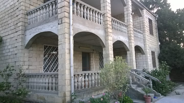 Nice guest house in the seaside of Zagulba, Baku