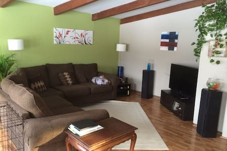 Quiet room in Upper Arlington near OSU - Rumah