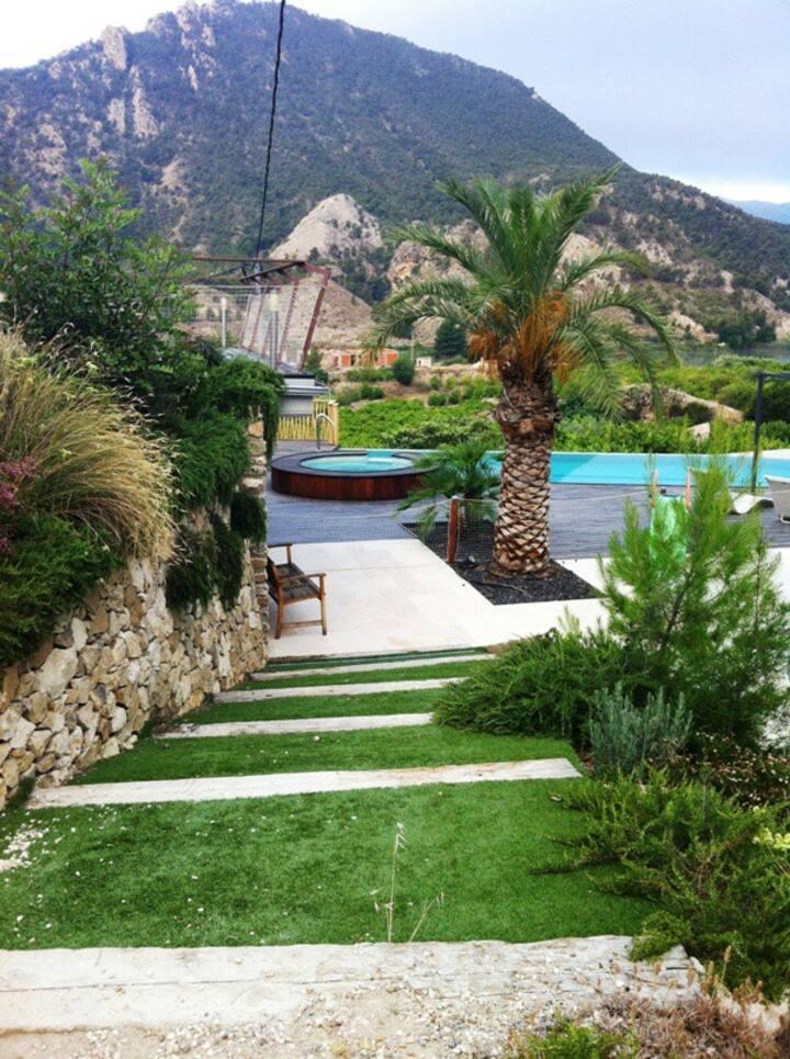 Great Villa. Exclusive landscape