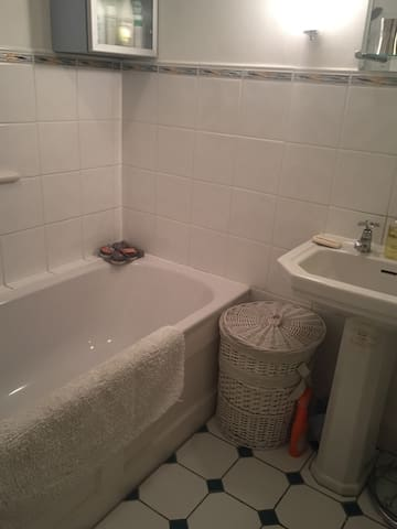 Spacious double and bathroom. Close to city centre - Oxford - Hus