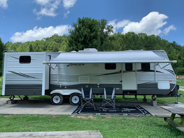Large Family Friendly Travel Trailer