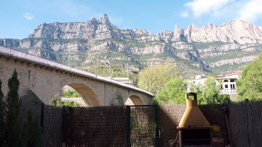 Montserrat rental in Barcelona - Monistrol de Montserrat - Huis