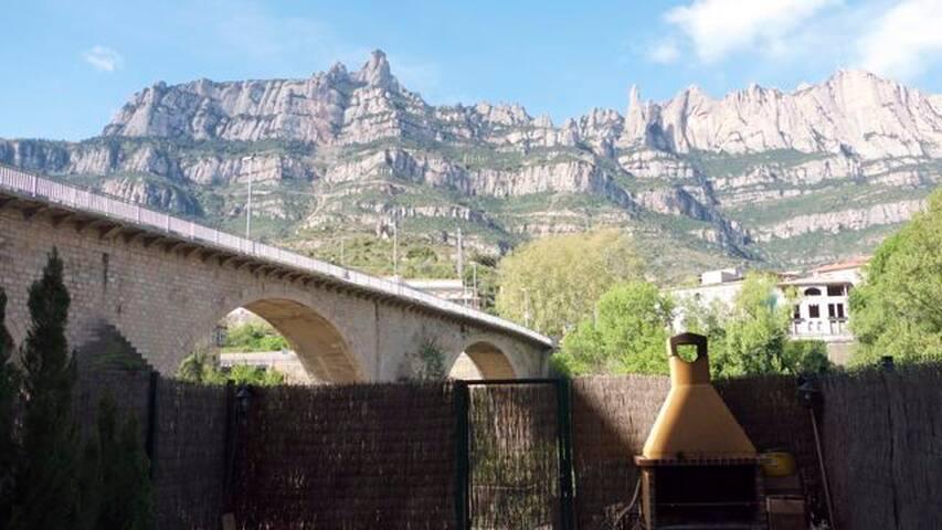 Montserrat rental in Barcelona - Monistrol de Montserrat - Casa