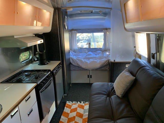 Interior of Airstream