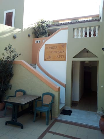Apartment Iris 2 persons in Fodele village