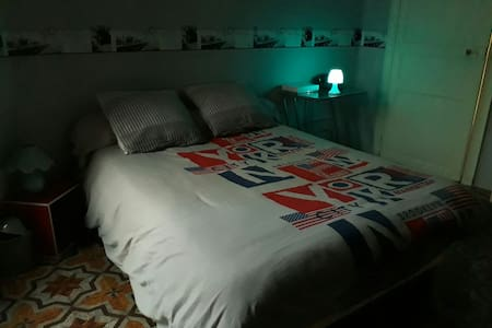 Chambre un lit double près de Béziers et agde