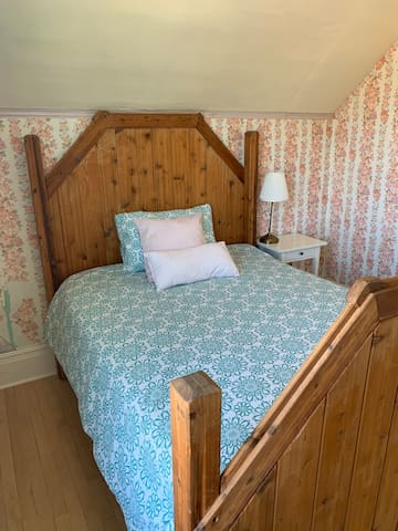 Upper level double bed